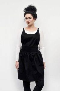 Sofia prijuostė juoda